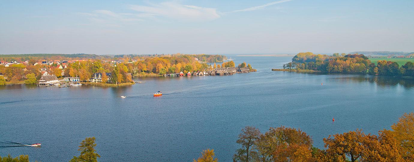 Herbsturlaub an der Müritz: Röbel