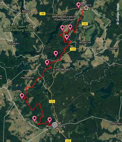 Streckenverlauf ÖTILLÖ Swimrun 2017