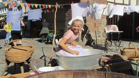 Großmutters Waschtag im Stadtmuseum