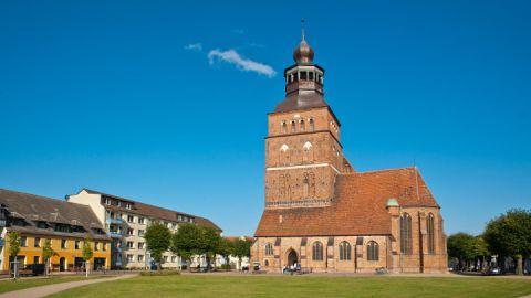 Malchin, Mecklenburgische Schweiz - St. Johanniskirche