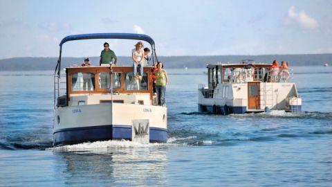 KUHNLE-TOURS Hausboot MS M0187