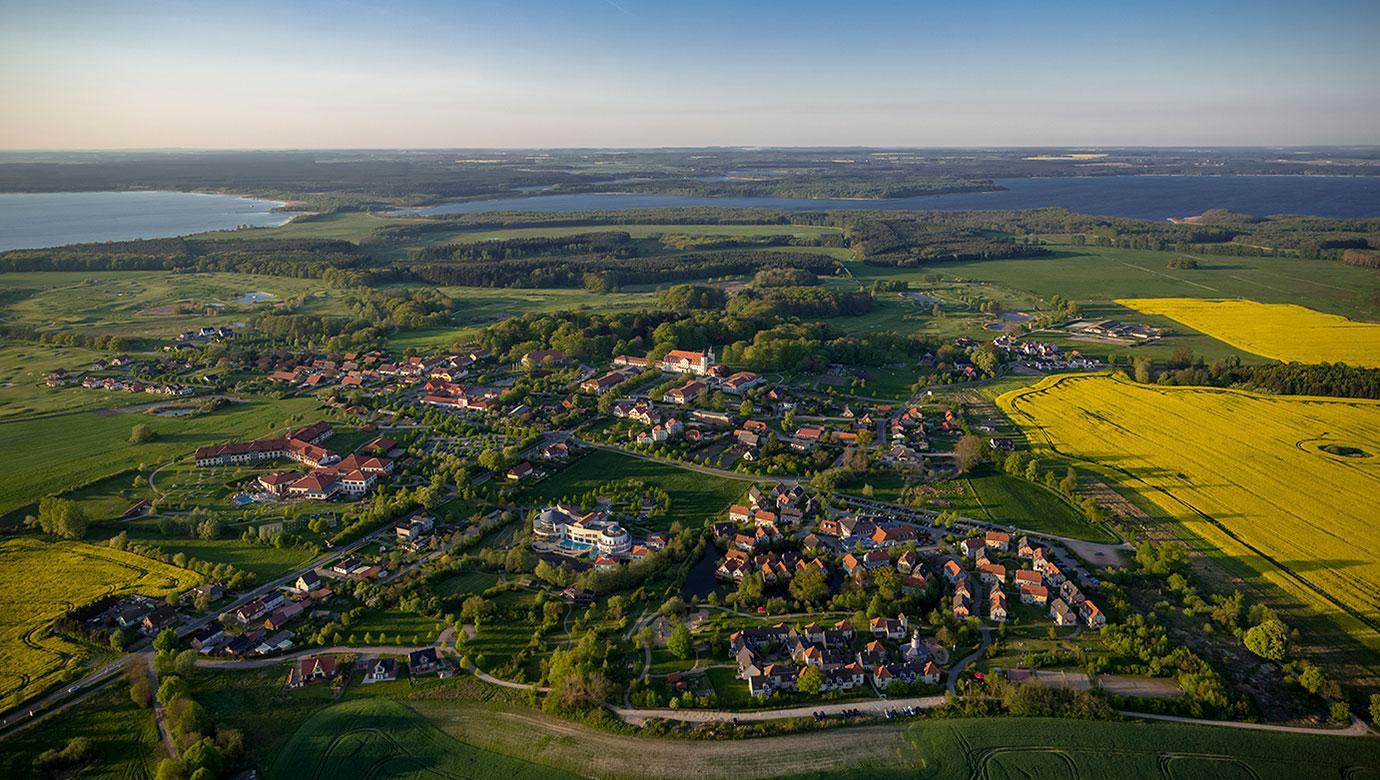 Luftbild Göhren-Lebbin - Hotel & Sportresort Fleesensee