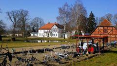 Gutshof-Gutshaus