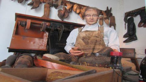 Schuhmacherwerkstatt im Stadtmuseum