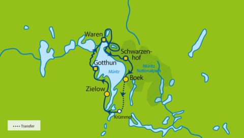 Wanderreise im Müritz-Nationalpark