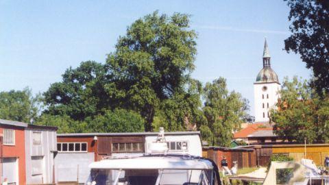 Bootshafen Frohnergasse in Loitz