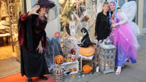 Halloween Late-Night-Shopping in der Neubrandenburger Innenstadt