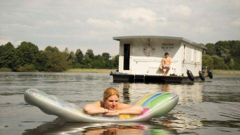 Hausbootferien am Müritzsee
