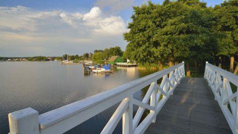 Brücke am Zierker See, Neustrelitz
