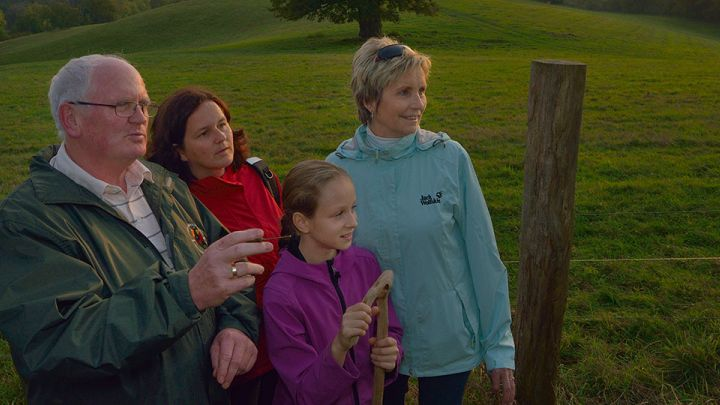 Familie auf dem Rötelberg