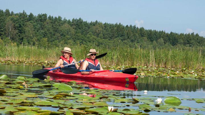 Kanu fahren in der Mecklenburgischen Seenplatte