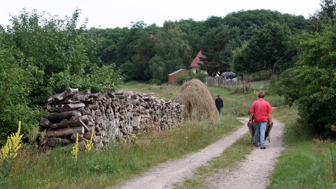 Wustrow, Mecklenburgische Kleinseenplatte